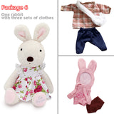 Girls Stuffed Toy Le Sucre Bunny Rabbit - Kawaii Treats