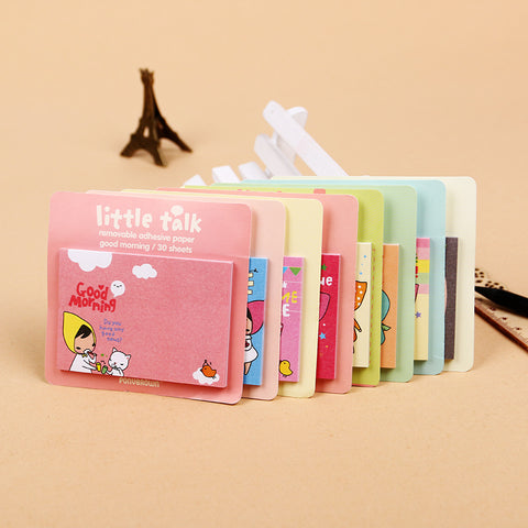Cartoon Post it Stationery Notepad - Kawaii Treats
