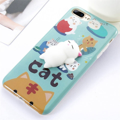 Kittens Squishy Case - Kawaii Treats