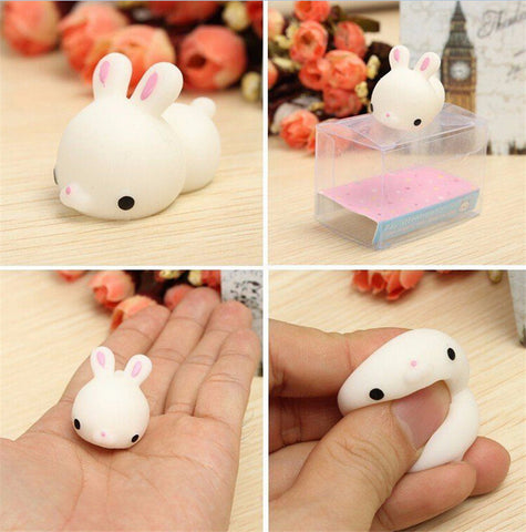 Squishy Mochi Bunny Healing Toy - Kawaii Treats
