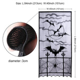 Black Lace Halloween Cloth Decor - Kawaii Treats