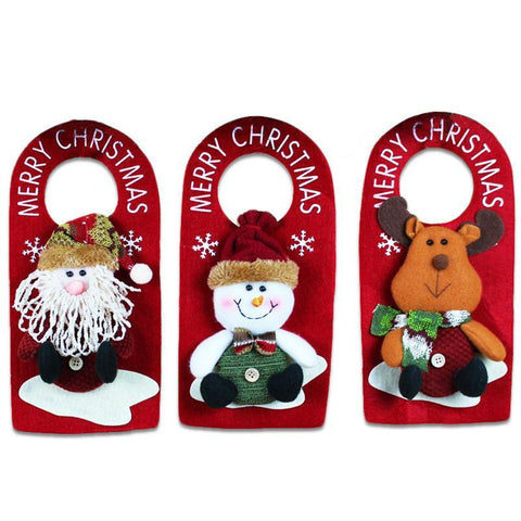 Doorknob Hanging Christmas Decorations - Kawaii Treats