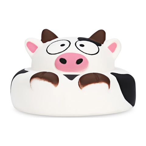 Cute Cow Cake Bun Slow Rising Squishy - Kawaii Treats
