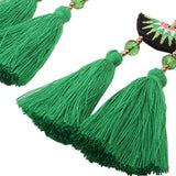 Long Tassel Bohemian Dangle Earrings - Kawaii Treats