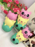Squishy Scented Kitty/Bear Face String Toy - Kawaii Treats