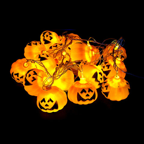 16pcs Pumpkin Halloween String Color Yellow Props Decoration - Kawaii Treats