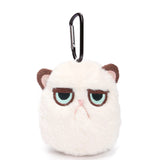 Stuffed Grouchy Cat Plush Bag Pendant - Kawaii Treats