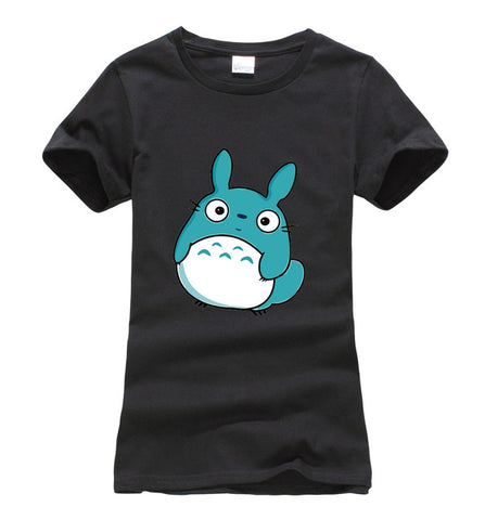Hipster Totoro Harajuku Ladies T-Shirt - Kawaii Treats