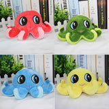 Colorful Stuffed Octopus Seat/Back Cushion