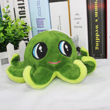 Colorful Stuffed Octopus Seat/Back Cushion - Kawaii Treats