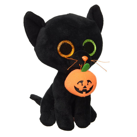 Ty Beanie Boos Big Eyes Cat Plush Doll