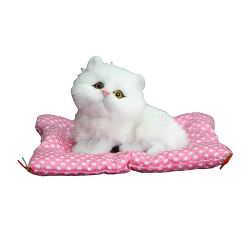 Sounding Sleeping Kitty Plush Stuffed Toy - Kawaii Treats