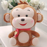 Cute Monkey Plush Toy - Kawaii Treats