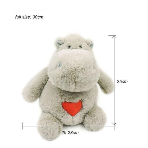 Huggable Stuffed Hippos Plush Toy - Kawaii Treats