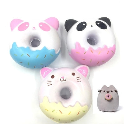 Squishy Panda/Kitty Scented Phone Strap - Kawaii Treats