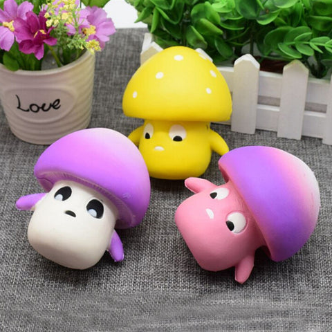 Mini Mushroom Anti Stress Toy - Kawaii Treats
