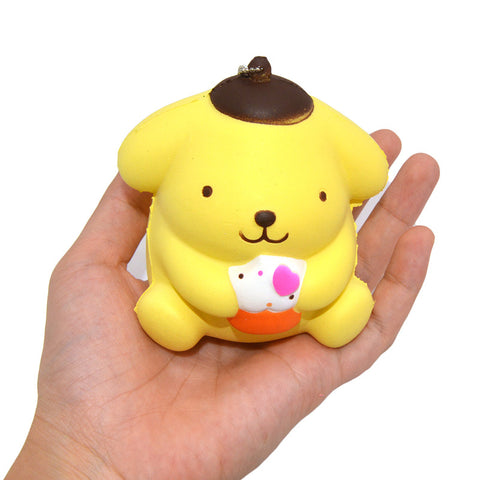 Cute Doggy Squishy Key Chain - Kawaii Treats