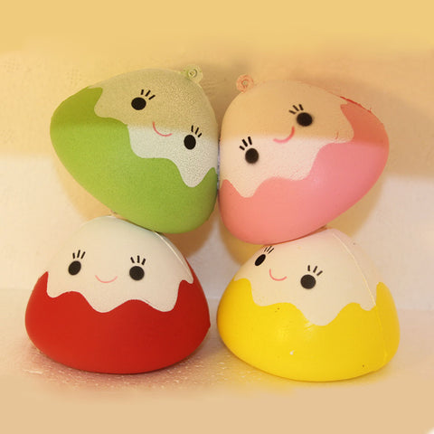 Yummy Rice Ball Sushi Squishy Toy - Kawaii Treats