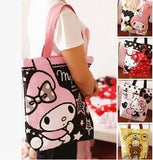 Foldable Eco Tote Bag Hello Kitty and My Melody - Kawaii Treats