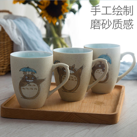 Free shipping Creative fashion ceramic Miyazaki Totoro mug totoro cup for birthday gift 2017 new - Kawaii Treats