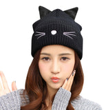 Kitty Ears Wool Hat - Kawaii Treats