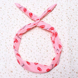 Dotted Bunny Ear Scarf Bow Knot Tie  Headband - Kawaii Treats