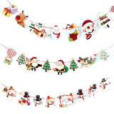 Christmas Banner Wall Pendant Drop Ornaments - Kawaii Treats