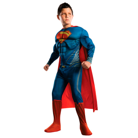 Superman Cosplay Clothing Halloween Costume For Kids