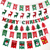 8 PCS Christmas Buntings Home Decoration - Kawaii Treats