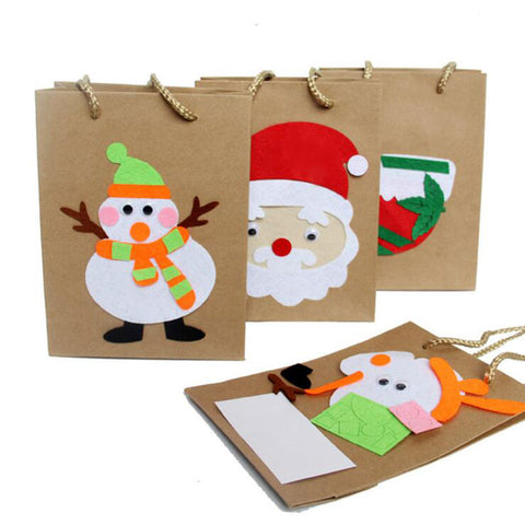 5PCS Christmas Gift Paper Bag - Kawaii Treats