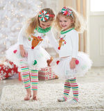 Girls Christmas Kiddie Deer Outfit
