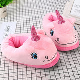Funny Unicorn Indoor Slippers - Kawaii Treats