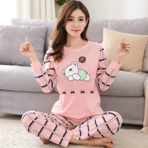 Cute Pajamas Long Pants Set <22 Styles>