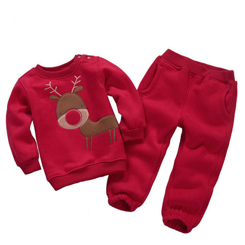 Christmas Kiddie Tracksuit Set - Kawaii Treats