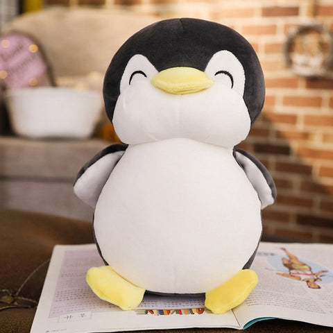 30cm/45cm/55cm Super Soft Penguin Plush Pillows - Kawaii Treats