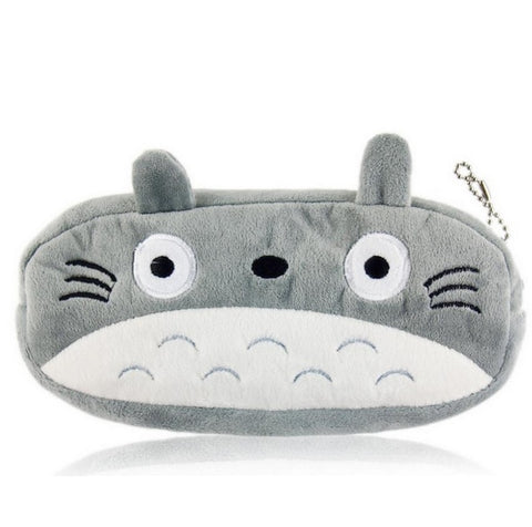Totoro Cosmetics and Coin Pouch Bag - Kawaii Treats