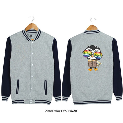 Fashionable Sports Jackets <3 colors> - Kawaii Treats
