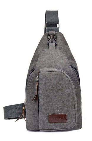 Casual Chest or Crossbody Messenger Bag