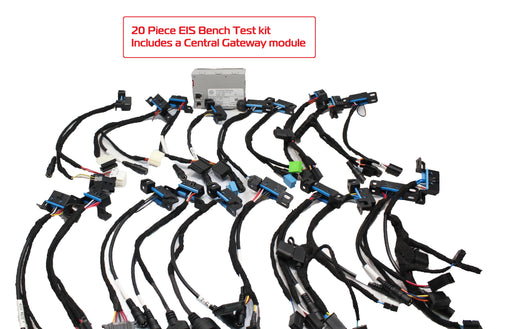 EIS 17 Piece Bench Test Kit ( Includes 7G and ISM cable )
