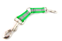 Fixed Leash Couplers, Y-Splitter, Reflective or Solid - Fox Valley Dog Collars
