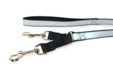 Double Clipped Reflective Safety Leashes - Fox Valley Dog Collars