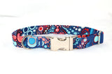Effervescence Celebration Adjustable Dog Collar - Fox Valley Dog Collars