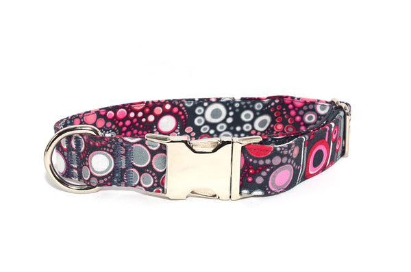 Effervescence Sweet Adjustable Dog Collar - Fox Valley Dog Collars