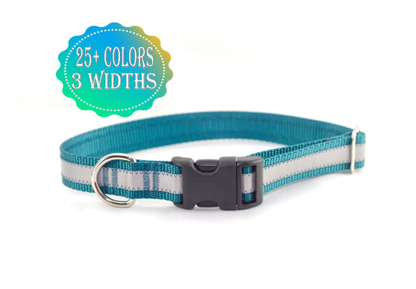 Reflective Adjustable Side Release Collar - Fox Valley Dog Collars