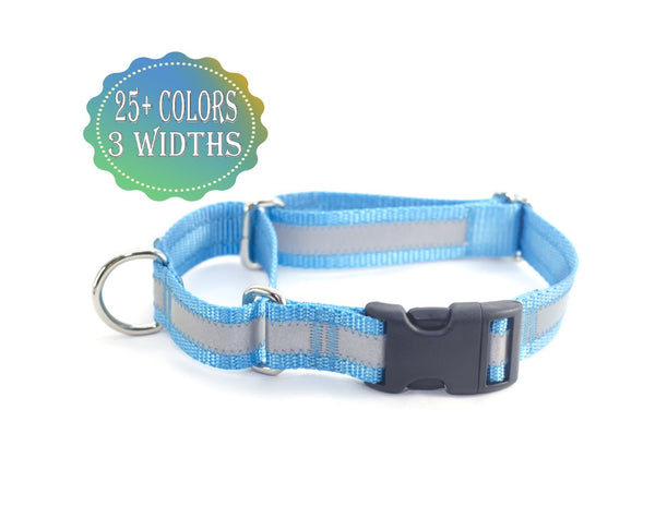 Reflective Quick Release Martingale Dog Collar - Fox Valley Dog Collars