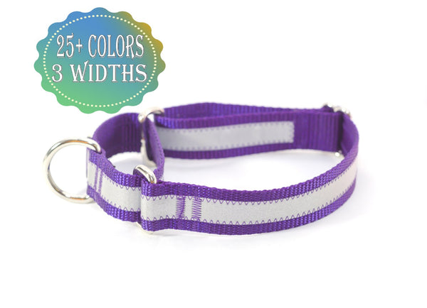 Reflective Martingale Dog Collar - Fox Valley Dog Collars