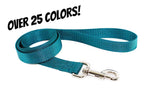 Solid Color Basic Leashes - Fox Valley Dog Collars