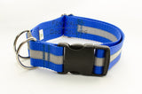 "1.5"" Reflective BREAKAWAY Dog Collar - Fox Valley Dog Collars"