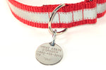 Round Stainless Steel Pet ID Tag - by Boomerang - Fox Valley Dog Collars