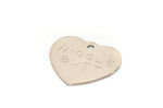 Heart Shaped Stainless Steel Pet ID Tag - by Boomerang - Fox Valley Dog Collars